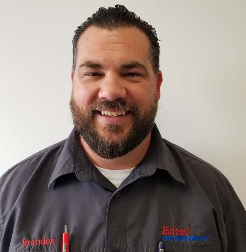 Brandon Eldred owner of Eldred Air Conditioning