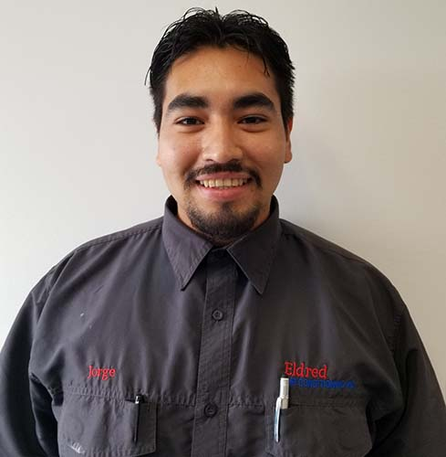 Jorge R. technician at Eldred Air Conditioning