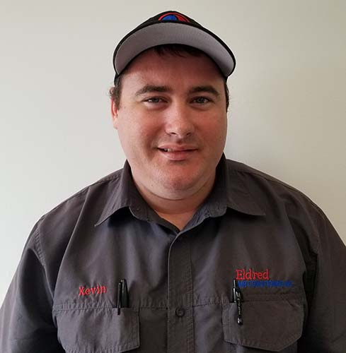 Kevin M. technician at Eldred Air Conditioning
